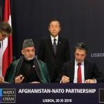 NATO+Summit+Lisbon+Karzai and NATO