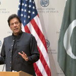 PM Imran Khan giving a speech at US Institute of Peace